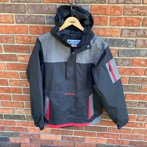 Columbia Anorak Omni Shield Ski Jacket Pullover M